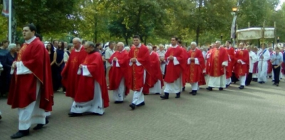 Procession in Ludbreg, with Nives Jelich and Queen Of Peace Travel